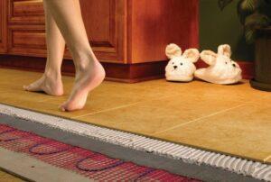 Преимущества теплого пола в доме