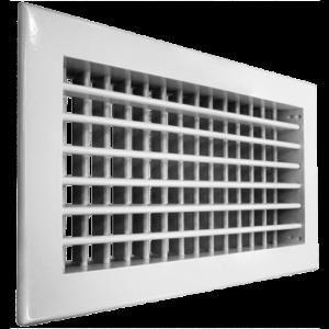 Решетки с поворотными жалюзи АДН 500x300